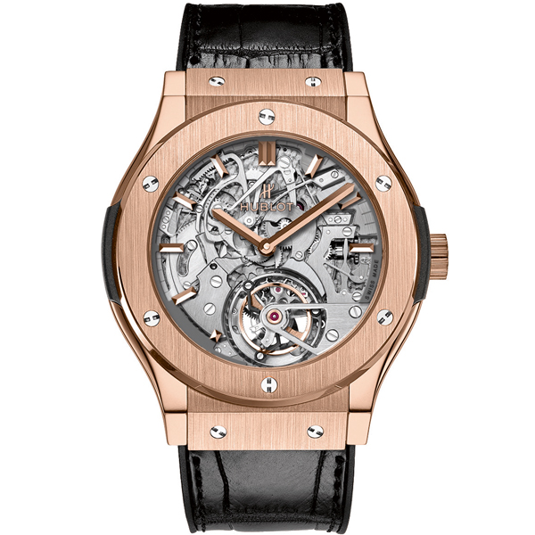 HUBLOT Tourbillon Cathedral Minute Repeater King Gold