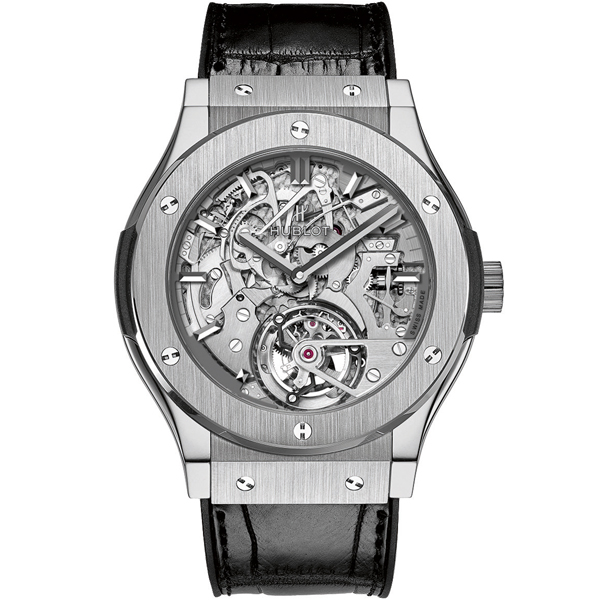 HUBLOT Tourbillon Cathedral Minute Repeater Titanium