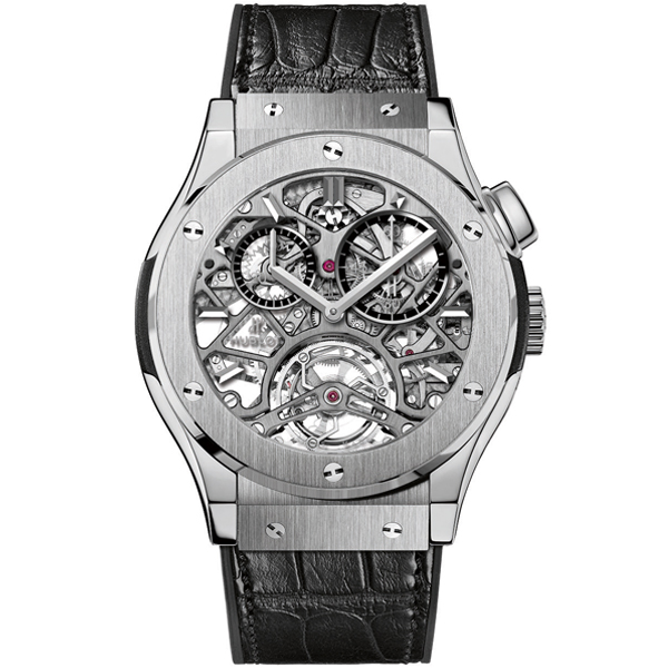 HUBLOT Tourbillon Skeleton Titanium