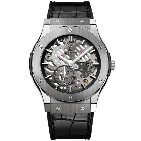 HUBLOT Ultra-Thin Skeleton Titanium