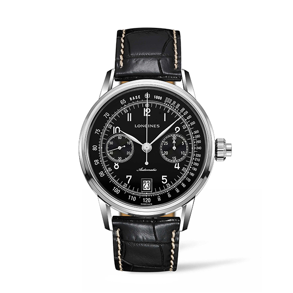 LONGINES HERITAGE - COLUMN-WHEEL SINGLE PUSH-PIECE CHRONOGRAPH