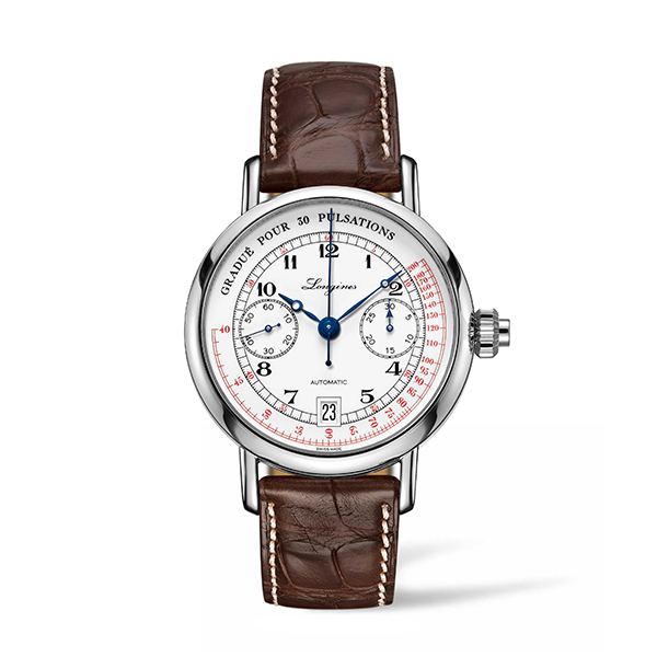 LONGINES HERITAGE - COLUMN-WHEEL SINGLE PUSH-PIECE PULSOMETER CHRONOGRAPH