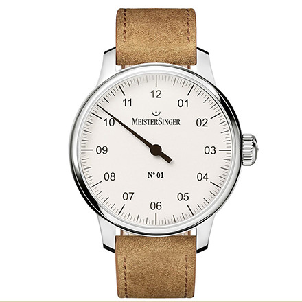 MEISTERSINGER classic - No.01 Silver-white