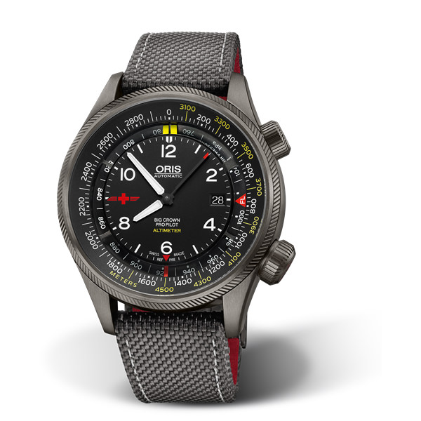 ORIS AVIAZIONE - Oris Altimeter Rega Limited Edition