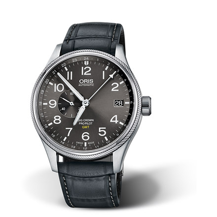 ORIS AVIAZIONE - ORIS BIG CROWN PROPILOT GMT, SMALL SECOND