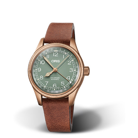 ORIS AVIAZIONE - BIG CROWN BRONZE POINTER DATE
