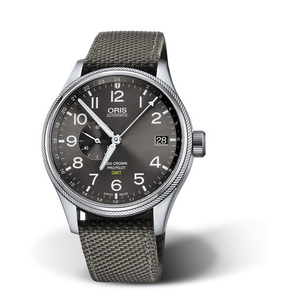 ORIS AVIAZIONE - BIG CROWN PROPILOT GMT, SMALL SECOND