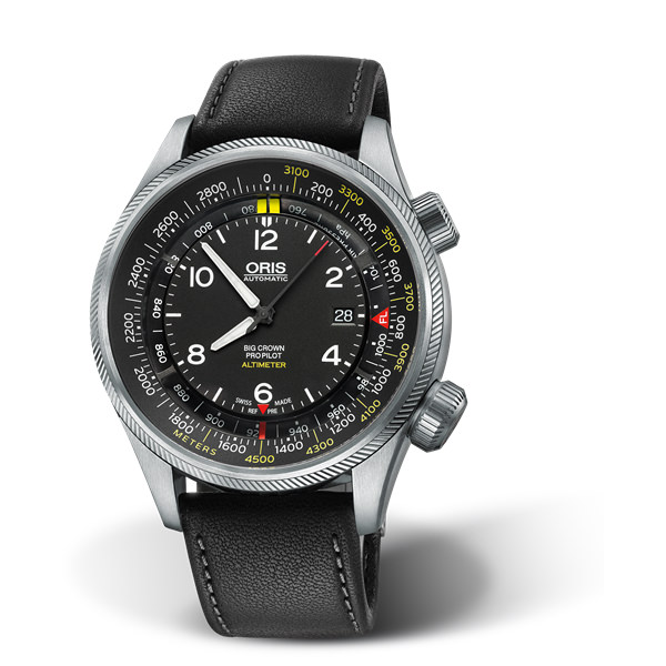 ORIS AVIAZIONE - BIG CROWN PROPILOT ALTIMETER CON SCALA IN METRI