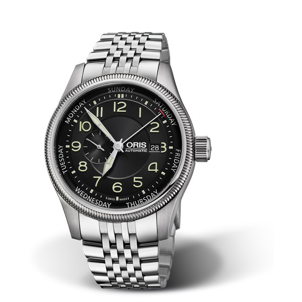ORIS AVIAZIONE - BIG CROWN SMALL SECOND, POINTER DAY