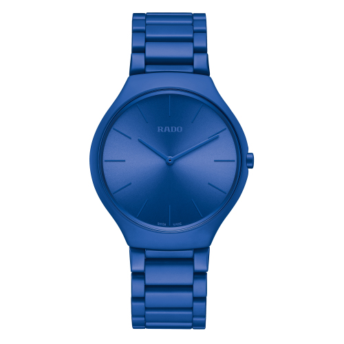 RADO TRUE THINLINE LES COULEURS™ LE CORBUSIER SPECTACULAR ULTRAMARINE 4320K