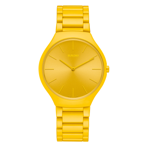 RADO TRUE THINLINE LES COULEURS™ LE CORBUSIER SUNSHINE YELLOW 4320W