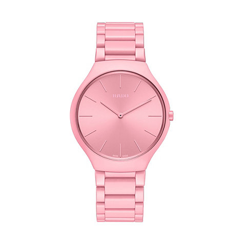 RADO TRUE THINLINE LES COULEURS™ LE CORBUSIER LUMINOUS PINK 4320C