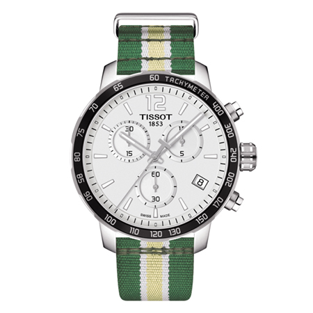 TISSOT QUICKSTER CHRONOGRAPH NBA MILWAUKEE BUCKS