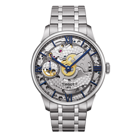 TISSOT CHEMIN DES TOURELLES SQUELETTE MECHANICAL