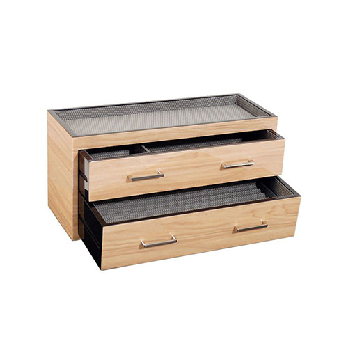 WOLF MERIDIAN TWO DRAWER VALET