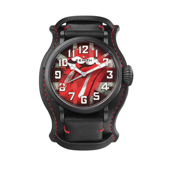 ZENITH PILOT - Pilot Type 20 GMT Tribute to the Rolling Stones - 48.00