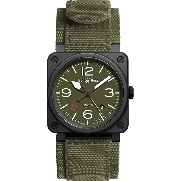 bell-ross BR 03-92 MILITARY TYPE SCRATCH
