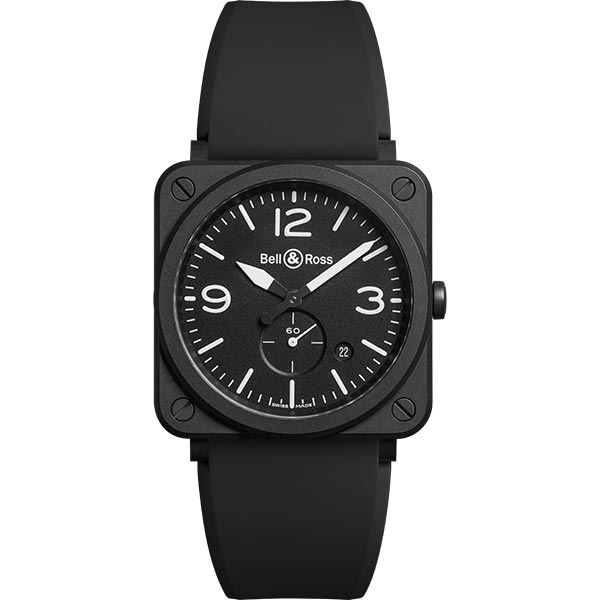 bell-ross BR S BLACK MATTE CERAMIC