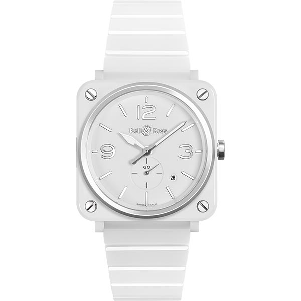 bell-ross BR S WHITE CERAMIC