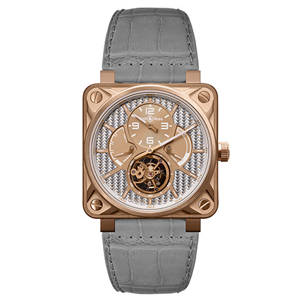 bell-ross BR 01 TOURBILLON ROSE GOLD