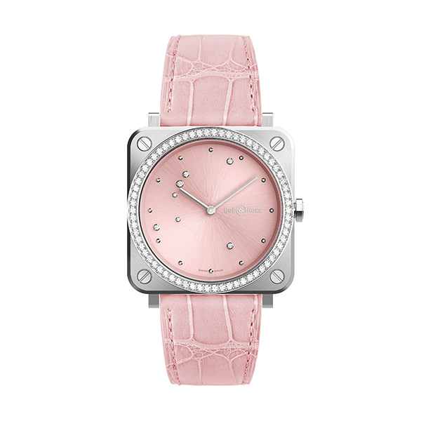 bell-ross BR S PINK DIAMOND EAGLE DIAMONDS