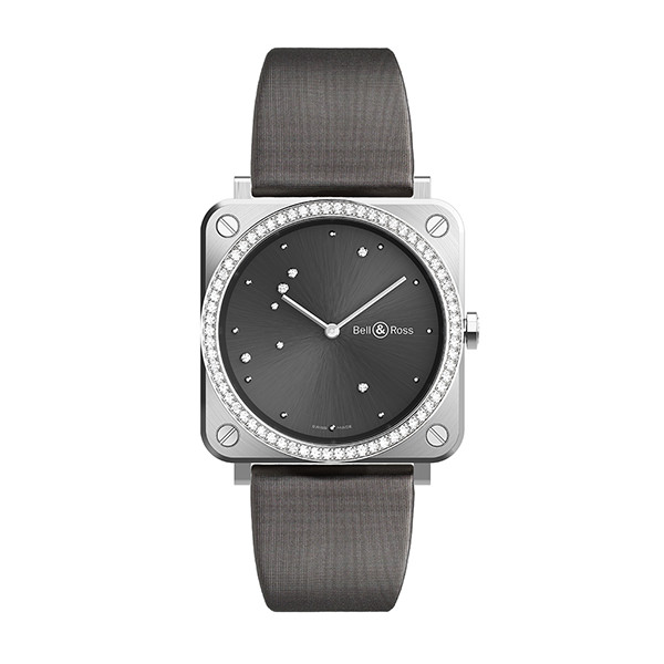 bell-ross BR S GREY DIAMOND EAGLE DIAMONDS