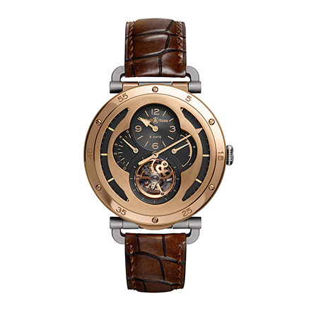 bell-ross WW2 MILITARY TOURBILLON ROSE GOLD
