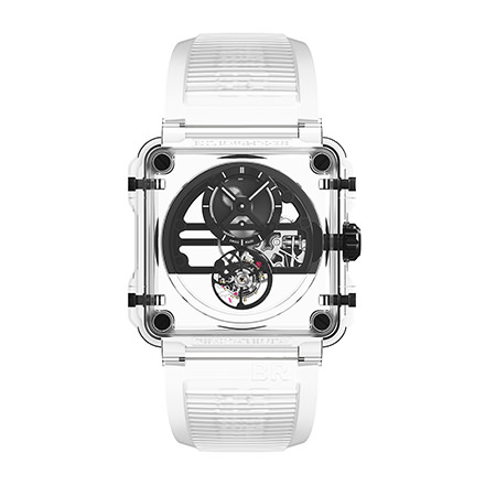 bell-ross BR-X1 SKELETON TOURBILLON SAPPHIRE BLACK
