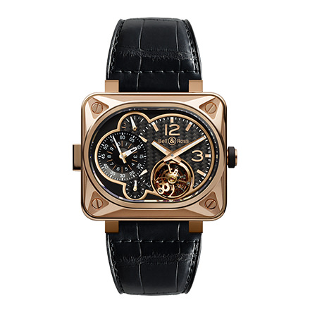 bell-ross BR MINUTEUR TOURBILLON ROSE GOLD