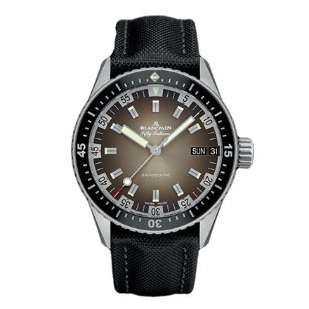 blancpain fifty-fathoms - BATHYSCAPHE JOUR DATE 70'