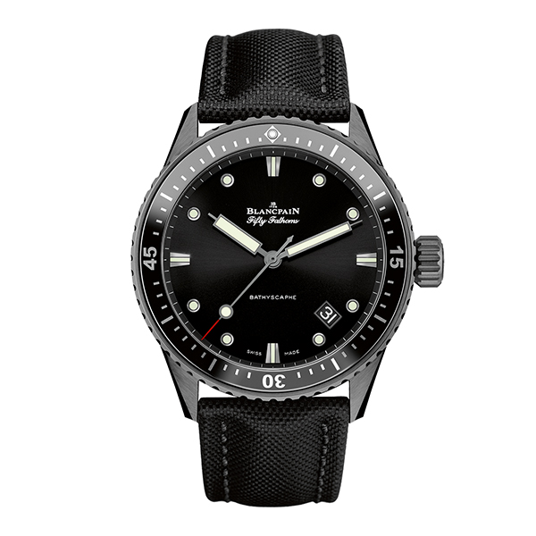 blancpain fifty-fathoms - BATHYSCAPHE 43,6 mm