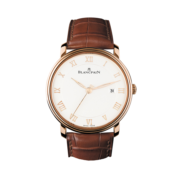 blancpain villeret - Ultraplate 40 mm oro rosa