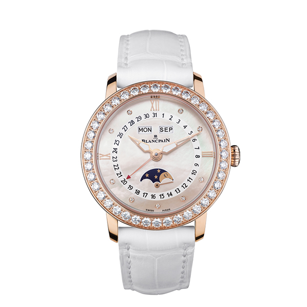 blancpain women - Women Moonphase and Complete Calendar 35 mm