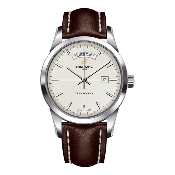 breitling transocean - Day and Date