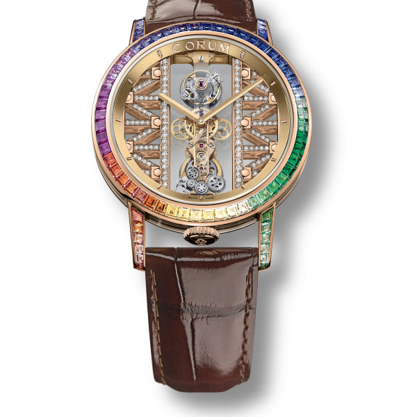corum GOLDEN BRIDGE Round 43 Tourbillon
