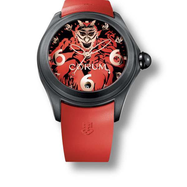 corum BIG BUBBLE 52 Diablo