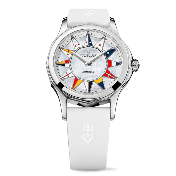 corum admiral legend 42 bianco