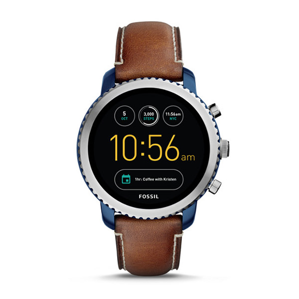 fossil cSMARTWATCH GEN 3 - Q EXPLORIST IN PELLE COLOR CUOIO