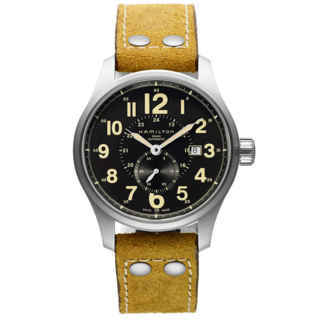 hamilton khaki-field - officer giallo