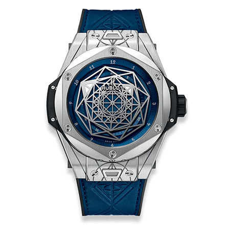 BIG BANG 45 MM SANG BLEU TITANIUM BLUE