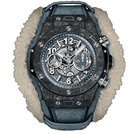 hublot BIG BANG UNICO FROSTED CARBON 45 MM