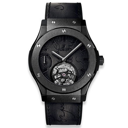 hublot CLASSIC FUSION MANUAL 45 MM SKELETON TOURBILLON BERLUTI