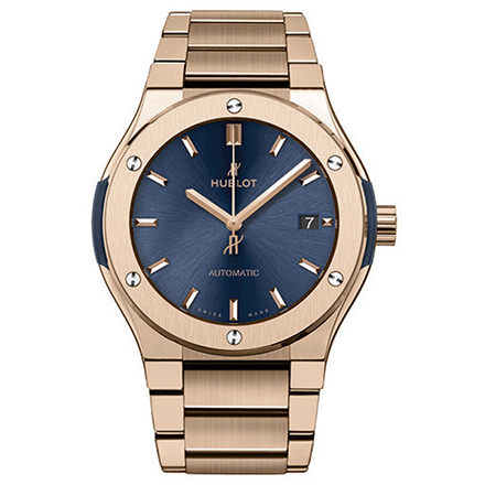 hublot BLUE KING GOLD BRACELET 45 mm