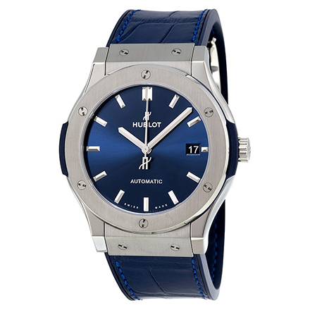 hublot BLUE TITANIUM 45 mm