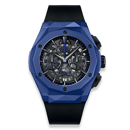hublot AEROFUSION CHRONOGRAPH ORLINSKI BLUE CERAMIC 45 mm
