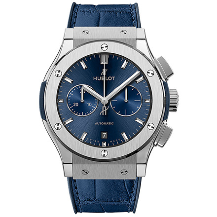 hublot BLUE CHRONOGRAPH TITANIUM 42 mm