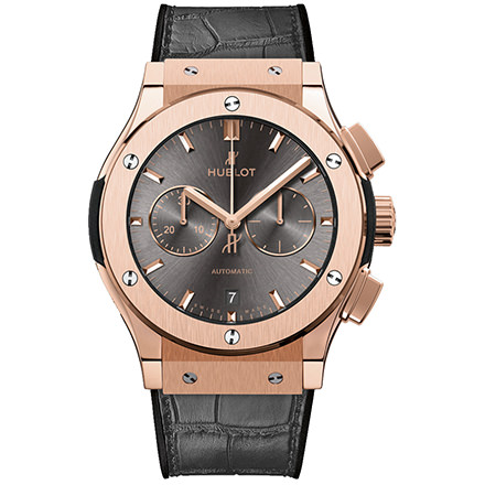 hublot RACING GREY CHRONOGRAPH KING GOLD 42 mm