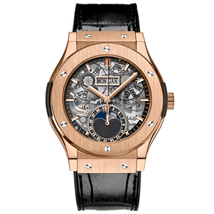 hublot AEROFUSION MOONPHASE KING GOLD 42 mm