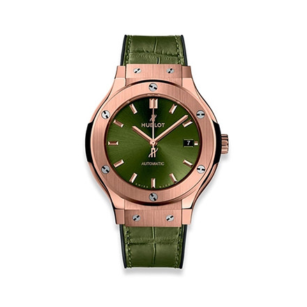 hublot CLASSIC FUSION KING GOLD GREEN 38 MM