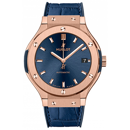 hublot KING GOLD BLUE